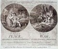 The Blessings of Peace and The Curses of War - James Gillray