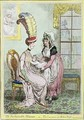 The Fashionable Mamma or The Convenience of Modern Dress - James Gillray