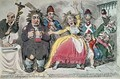 Louis XVI 1754-93 Taking Leave of his Wife and Family - James Gillray