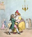 Waltzer au Mouchoir - James Gillray