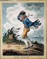 Windy Weather - James Gillray