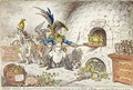 Tiddy Doll the Great French Gingerbread Maker Drawing Out a New Batch of Kings His Man Hopping Talley Mixing Up the Dough - James Gillray