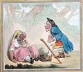 Cymon and Iphigenia - James Gillray
