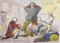John Bull Ground Down - James Gillray