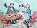 God Save the King in a bumper or An Evening Scene Three Times a Week at Wimbleton - James Gillray