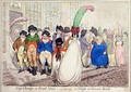 High Change in Bond Street or La Politesse du Grande Monde - James Gillray