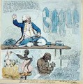 Black Dick turnd Taylor - James Gillray