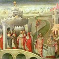 Procession of St Gregory to the Castel St Angelo - Paolo di Grazia Giovanni di