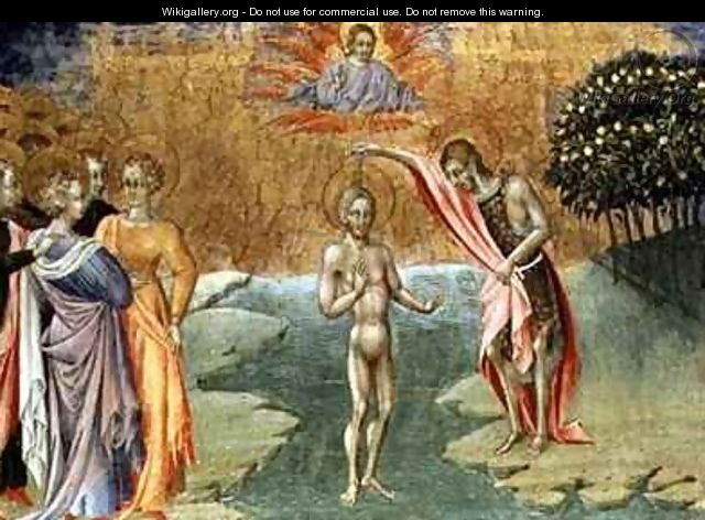 The Baptism of Christ - Paolo di Grazia Giovanni di