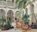 The Court of the Harem - Albert Girard