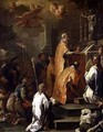 The Mass of St Gregory - Luca Giordano