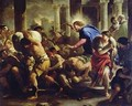 Christ Driving the Merchants from the Temple - Luca Giordano