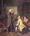 A Lesson with Abbe Charles Michel de lEpee 1712-89 - N. Ginouvier