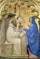 The Virgin appearing to St Bernard - Milano Giovanni da