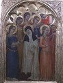 Predella panel of St Lucy with saints - Milano Giovanni da