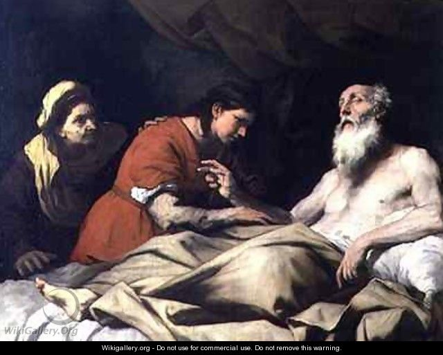 Issac Blessing Jacob - Luca Giordano