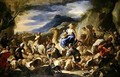 Jacobs Journey to Canaan - Luca Giordano