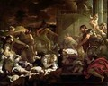 Massacre of the Innocents - Luca Giordano