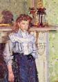Girl by a Mantelpiece - Harold Gilman