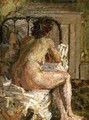 Nude on a bed 2 - Harold Gilman