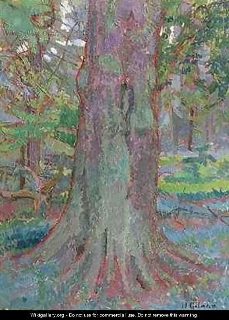 Tree Trunk - Harold Gilman