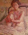 Nude on a Bed - Harold Gilman