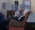 Interior with Artists Mother - Harold Gilman
