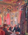 The Cafe Royal - Harold Gilman