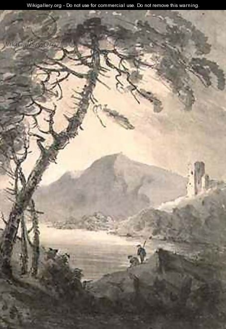 Landscape with Ruined Castle - Rev. William Gilpin