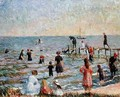 Bathing at Bellport Long Island - William Glackens
