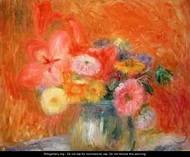 Bowl of Flowers - William Glackens