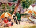Landscape with Figures - William Glackens