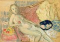 Study for Nude with Apple - William Glackens