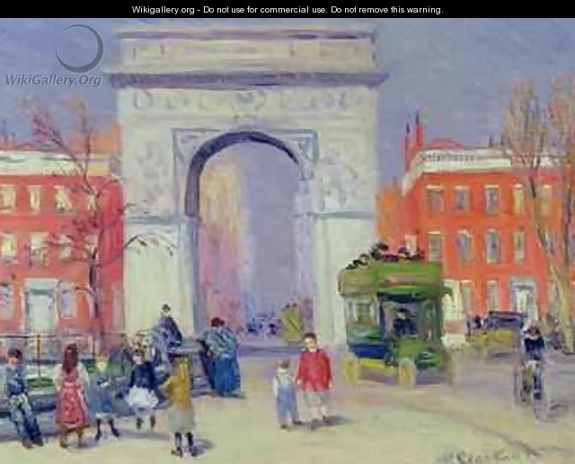 Washington Square Park - William Glackens