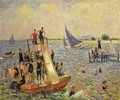 The Float or The Raft - William Glackens