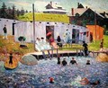 Chester Bathing Hour - William Glackens