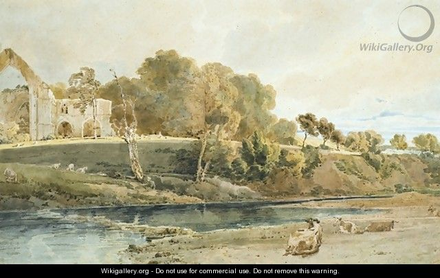 Bolton Abbey Yorkshire - Thomas Girtin