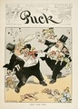 Front Cover Illustration for Puck Magazine - Louis Glackens