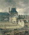 The Palace of the Louvre - Thomas Girtin
