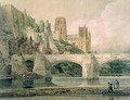 Durham Cathedral and Bridge - Thomas Girtin