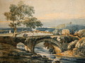 The Old Bridge in Devon - Thomas Girtin
