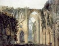 Interior of Tintern Abbey - Thomas Girtin