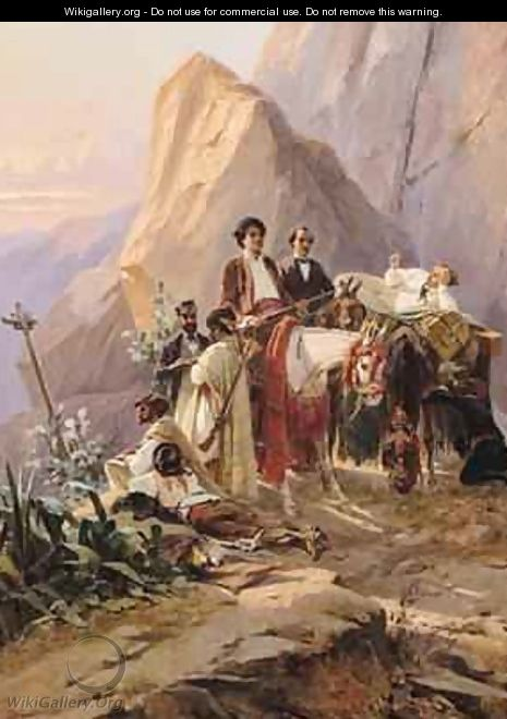 Journey from Paris to Cadiz - Eugene Pierre Francois Giraud
