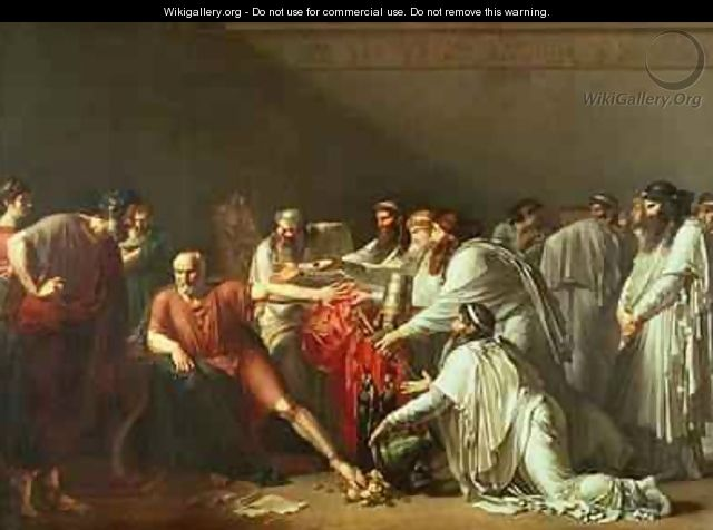 Hippocrates Refusing the Gifts of Artaxerxes I - Anne-Louis Girodet de Roucy-Triosson