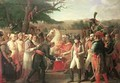 Napoleon Bonaparte 1769-1821 Receiving the Keys of Vienna at the Schloss Schonbrunn - Anne-Louis Girodet de Roucy-Triosson