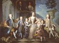 Portrait of the Family of the Duke of Valentinois - Pierre Gobert