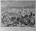 The Battle of Blenheim in 1704 - (after) Godefroy, Jean