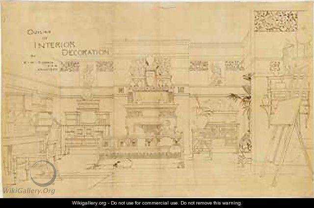 Outline of Interior Decoration - Edward William Godwin