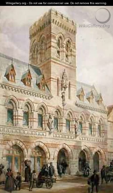 Congleton Town Hall - Edward William Godwin