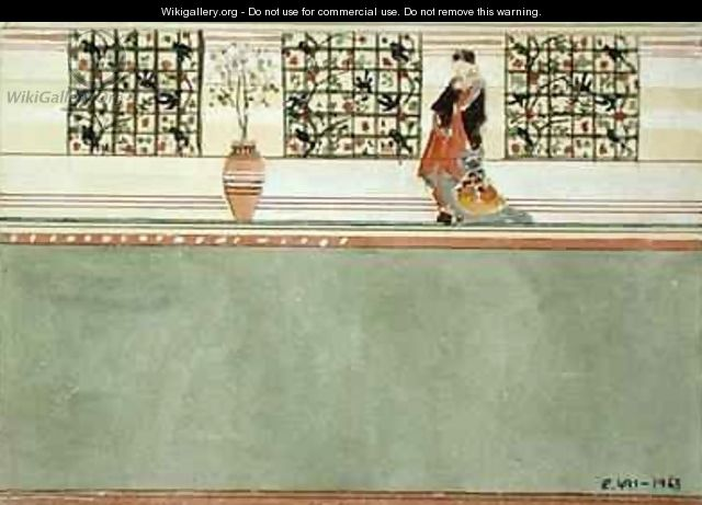 Anglo Japanese Wall Design - Edward William Godwin